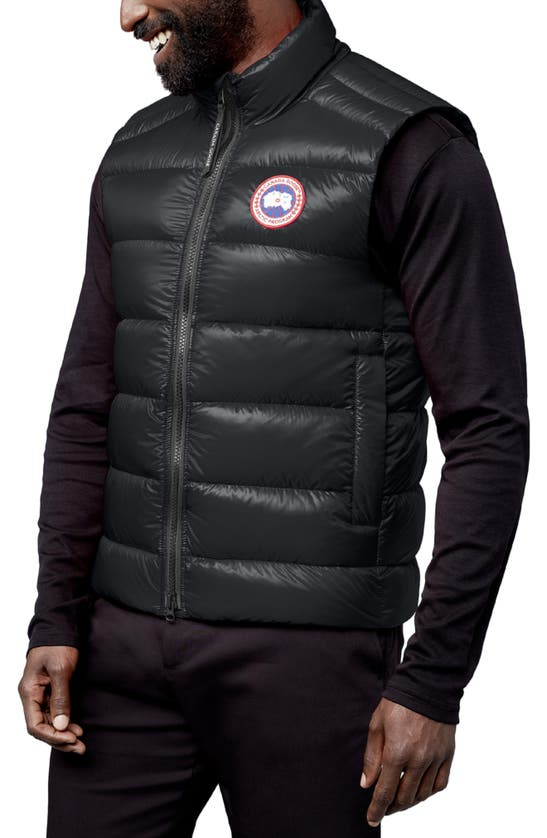 Canada Goose Vests CROFTON WATER RESISTANT PACKABLE QUILTED 750-FILL-POWER DOWN VEST