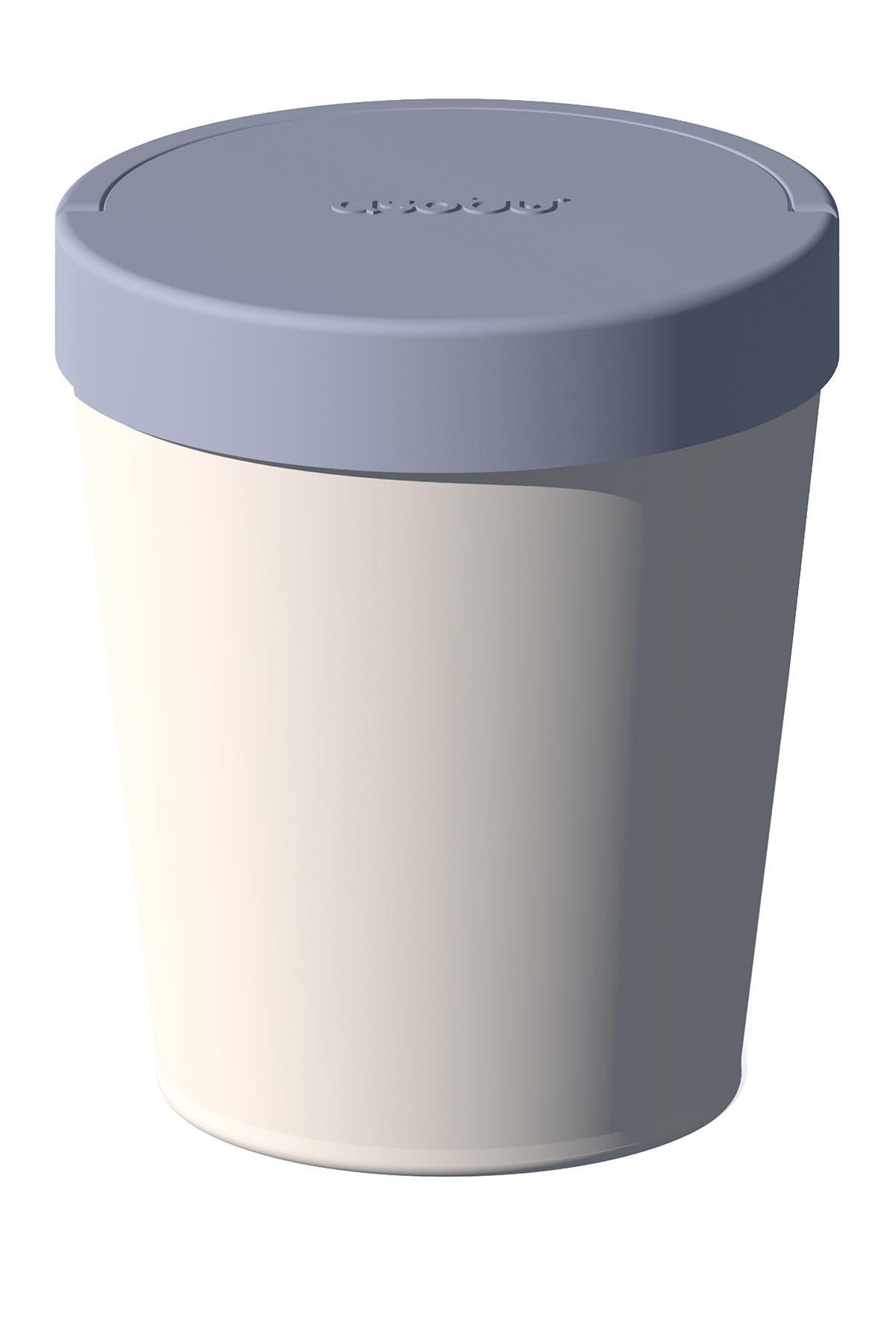 Image of ASOBU Ice Cream Cold Pint Keeper - White