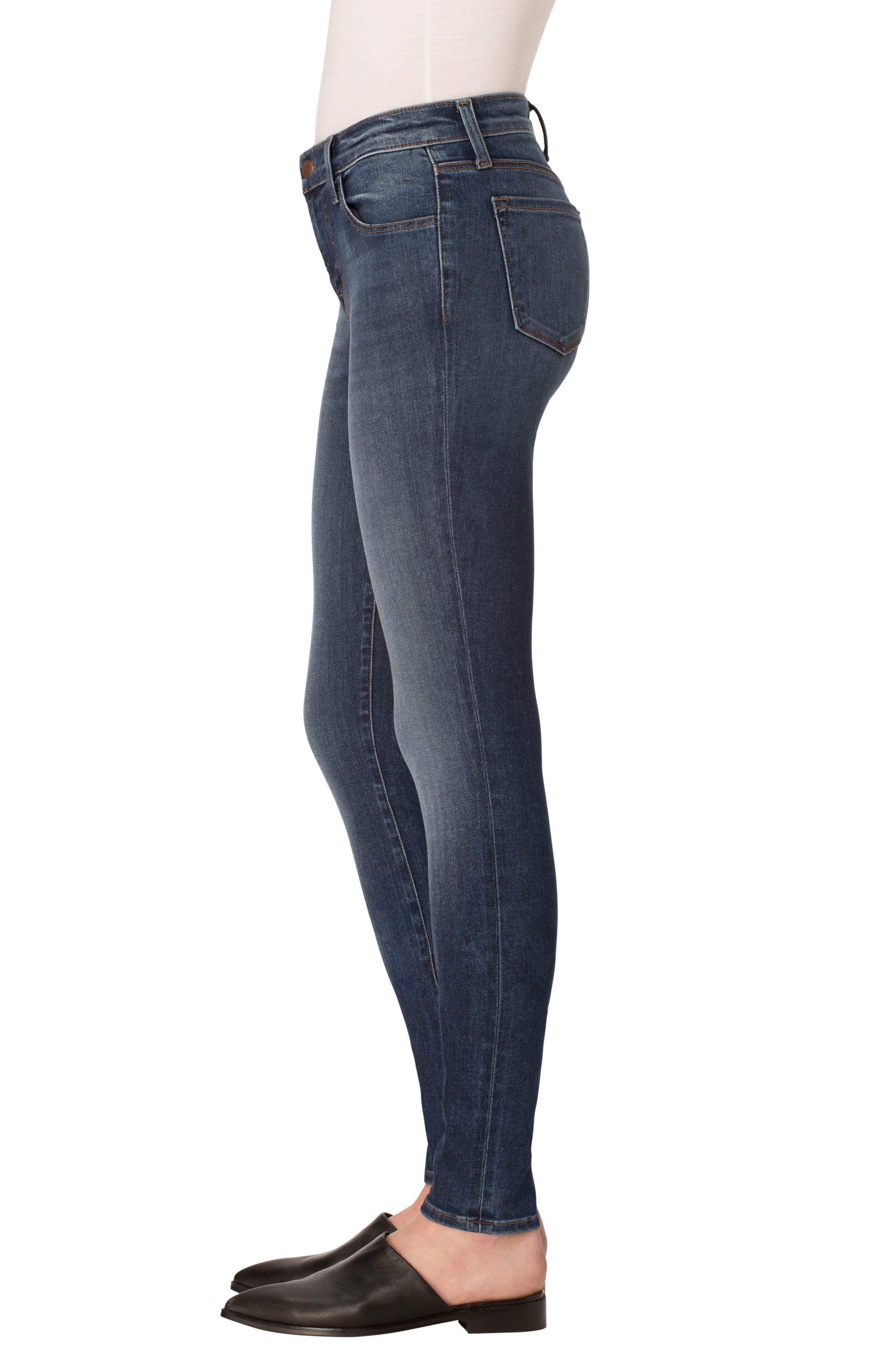 ,                             '620' Mid Rise Super Skinny Jeans,                             Alternate thumbnail 6, color,                             423