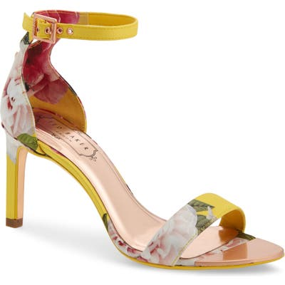 Ted Baker London Ankle Strap Sandal - Yellow