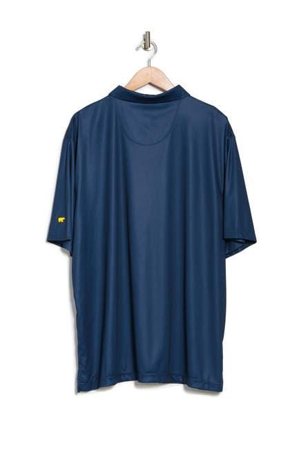 Image of Jack Nicklaus Short Sleeve Driver Printed Polo Shirt