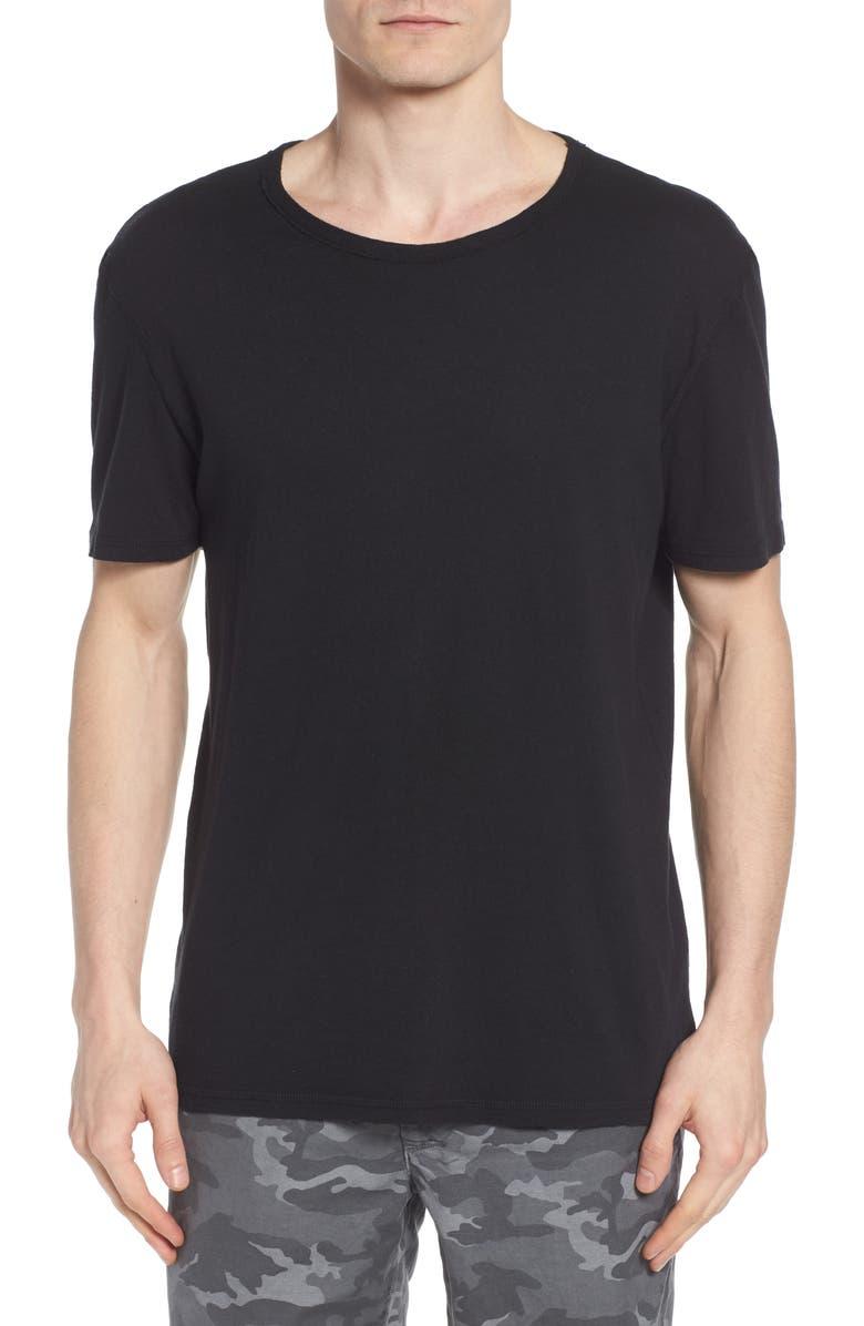 AG Ramsey Slim Fit Crewneck T-Shirt, Main, color, 001