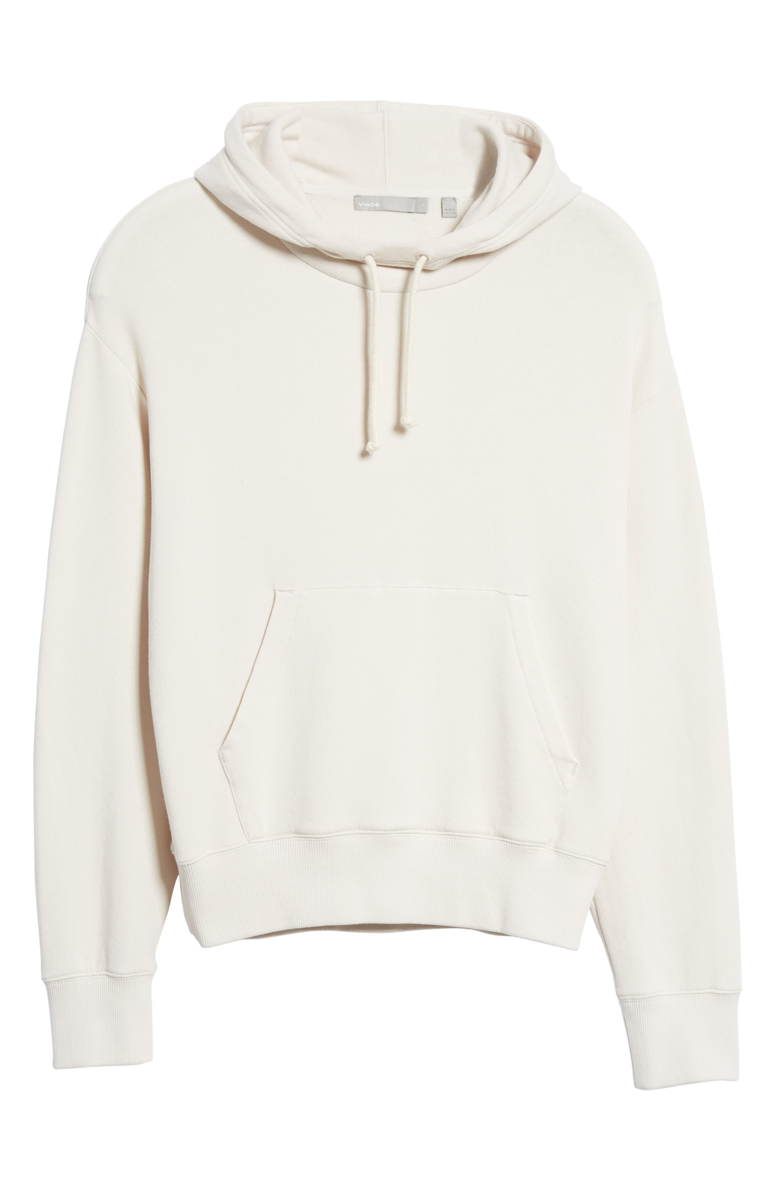 ,                             Hoodie,                             Alternate thumbnail 6, color,                             BLANCH