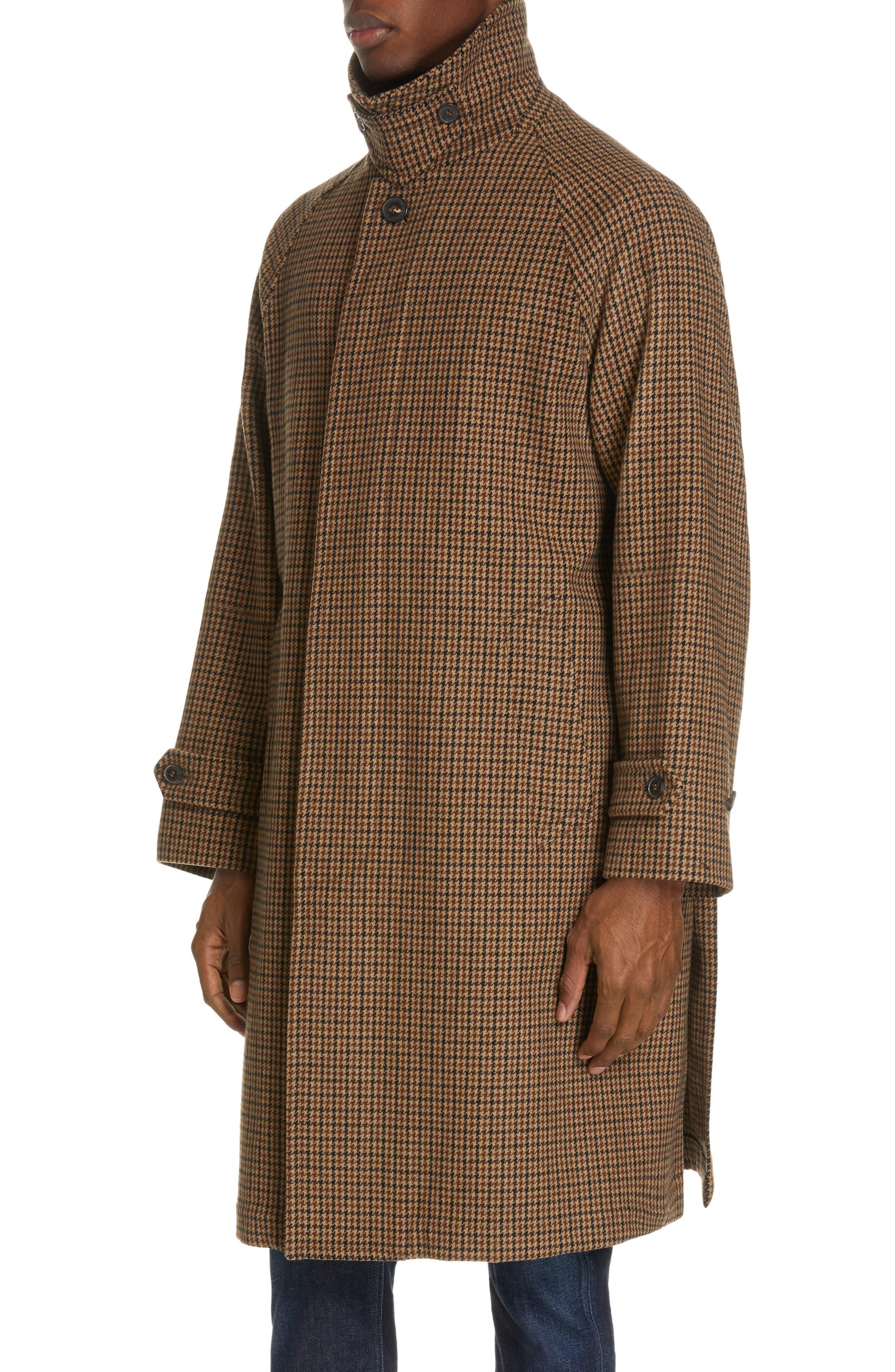 ,                             Gents Gun Club Check Virgin Wool Coat,                             Alternate thumbnail 6, color,                             GUNCLUB