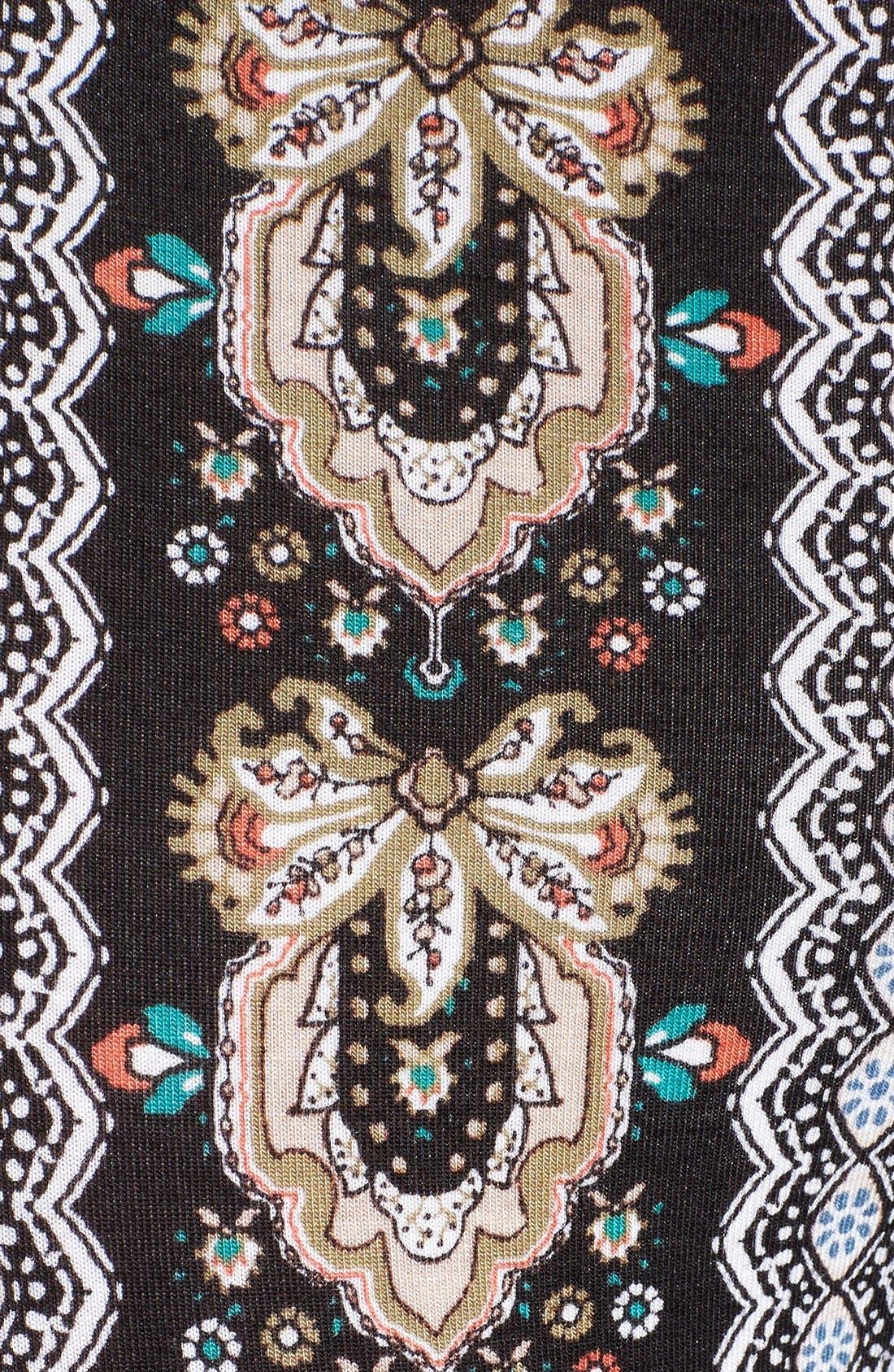 ,                             Mixed Print Flare Leg Pants,                             Alternate thumbnail 37, color,                             013