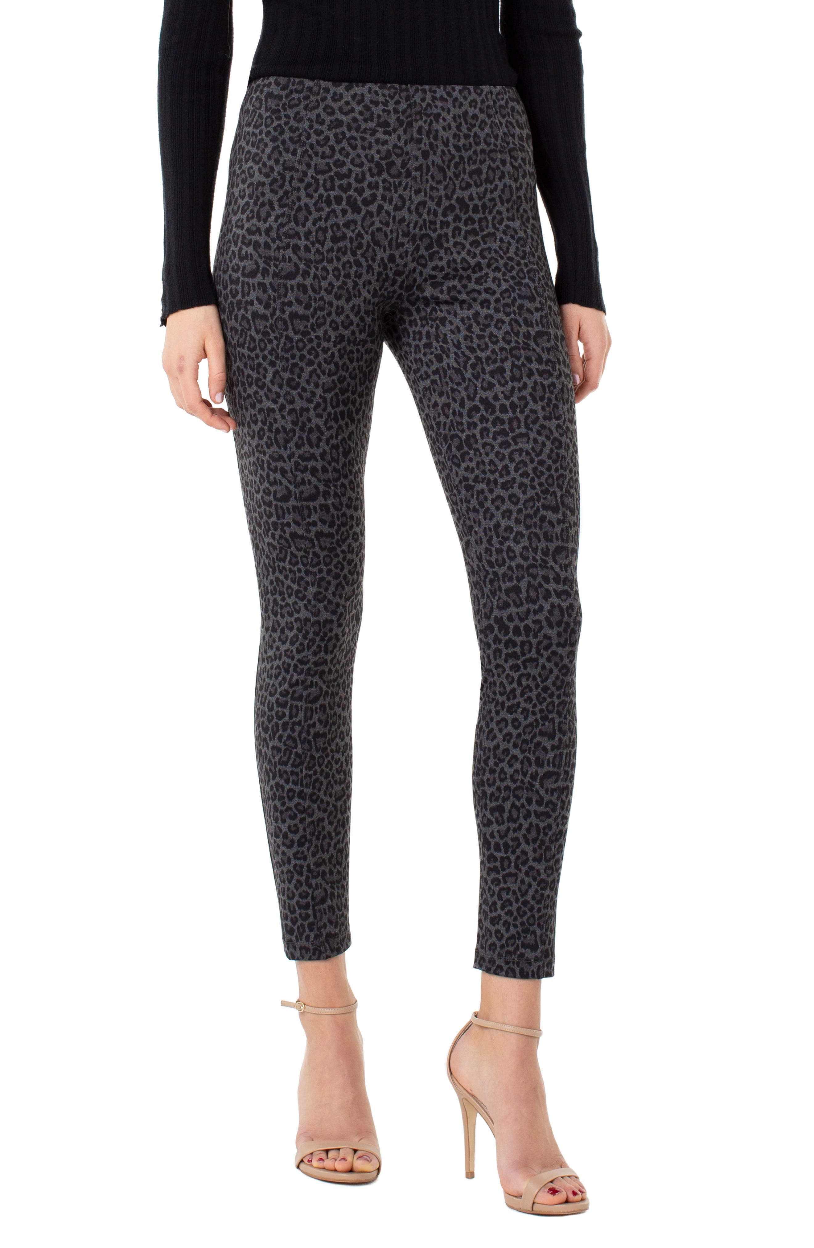 Reese Leopard Print Leggings by Liverpool