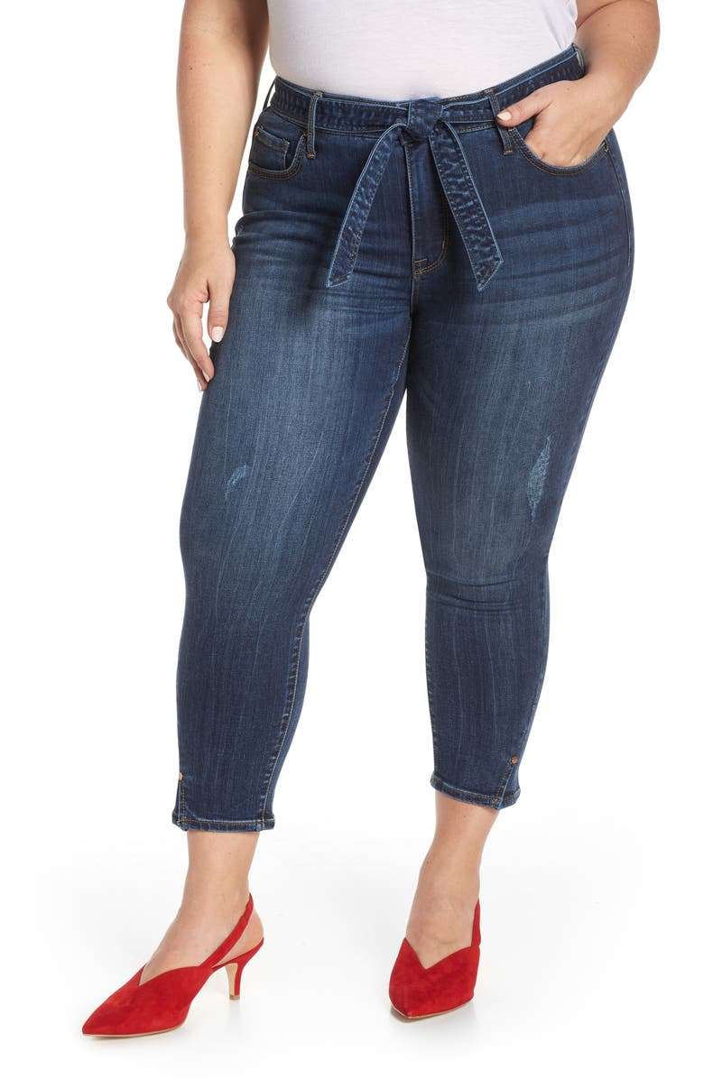SEVEN7 Hollywood Mid Rise Skinny Ankle Jeans, Main, color, MEDITATE
