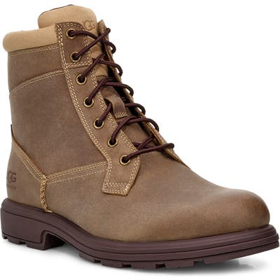 UGG Biltmore Waterproof Plain Toe Boot- Brown