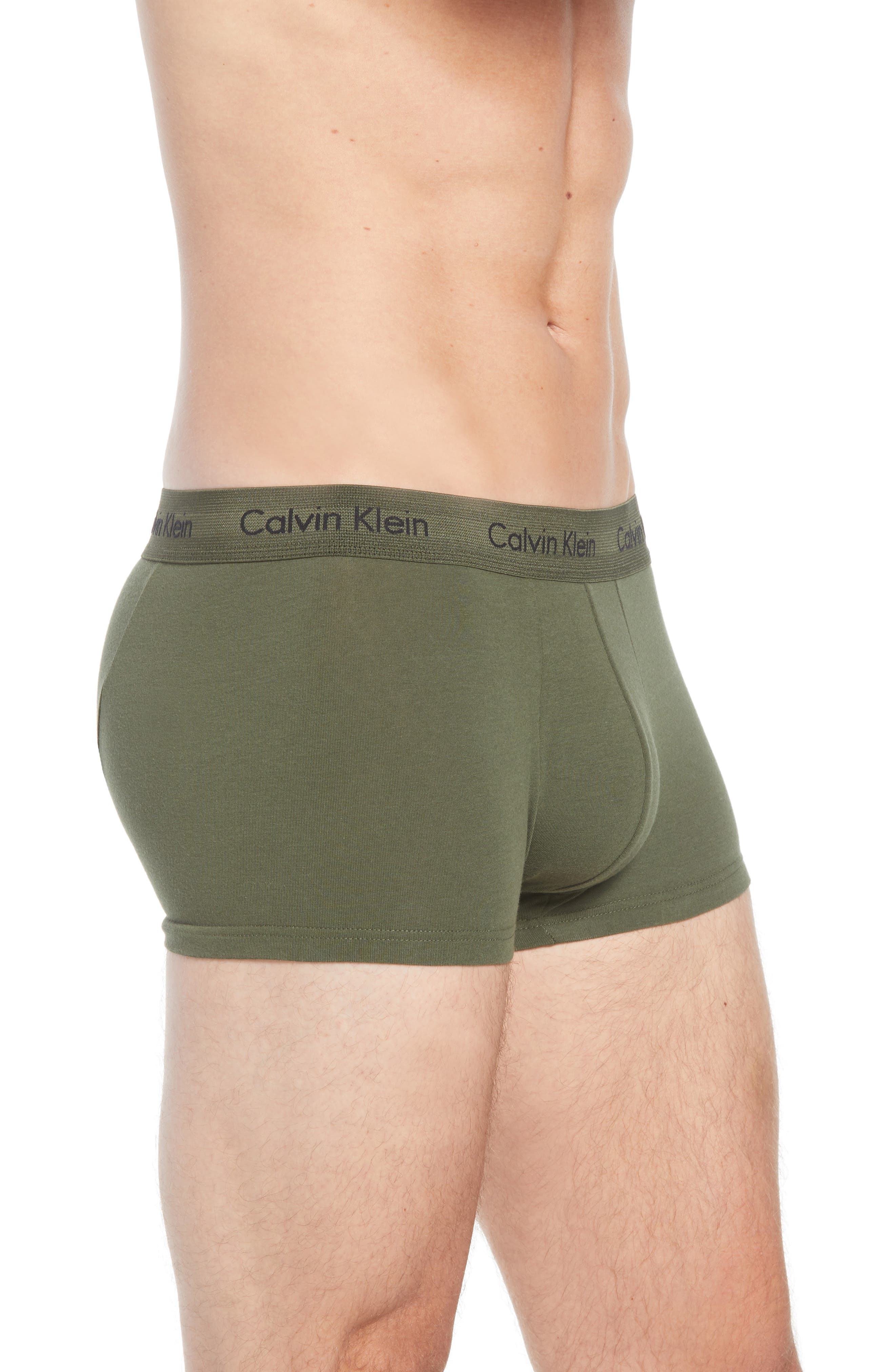 ,                             3-Pack Stretch Cotton Low Rise Trunks,                             Alternate thumbnail 142, color,                             882