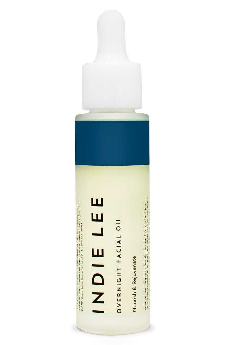 INDIE LEE Nourish & Rejuvenate Overnight Facial Oil, Main, color, NO COLOR