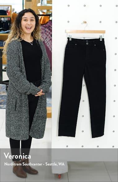 High Waist Flare Leg Release Hem Jeans, sales video thumbnail