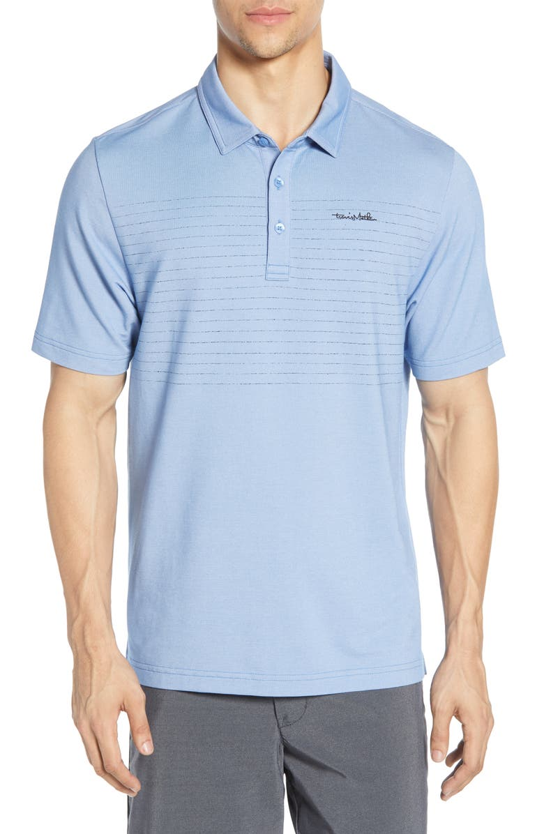 TravisMathew JadeyLadyBaby Regular Fit Piqu Performance Polo