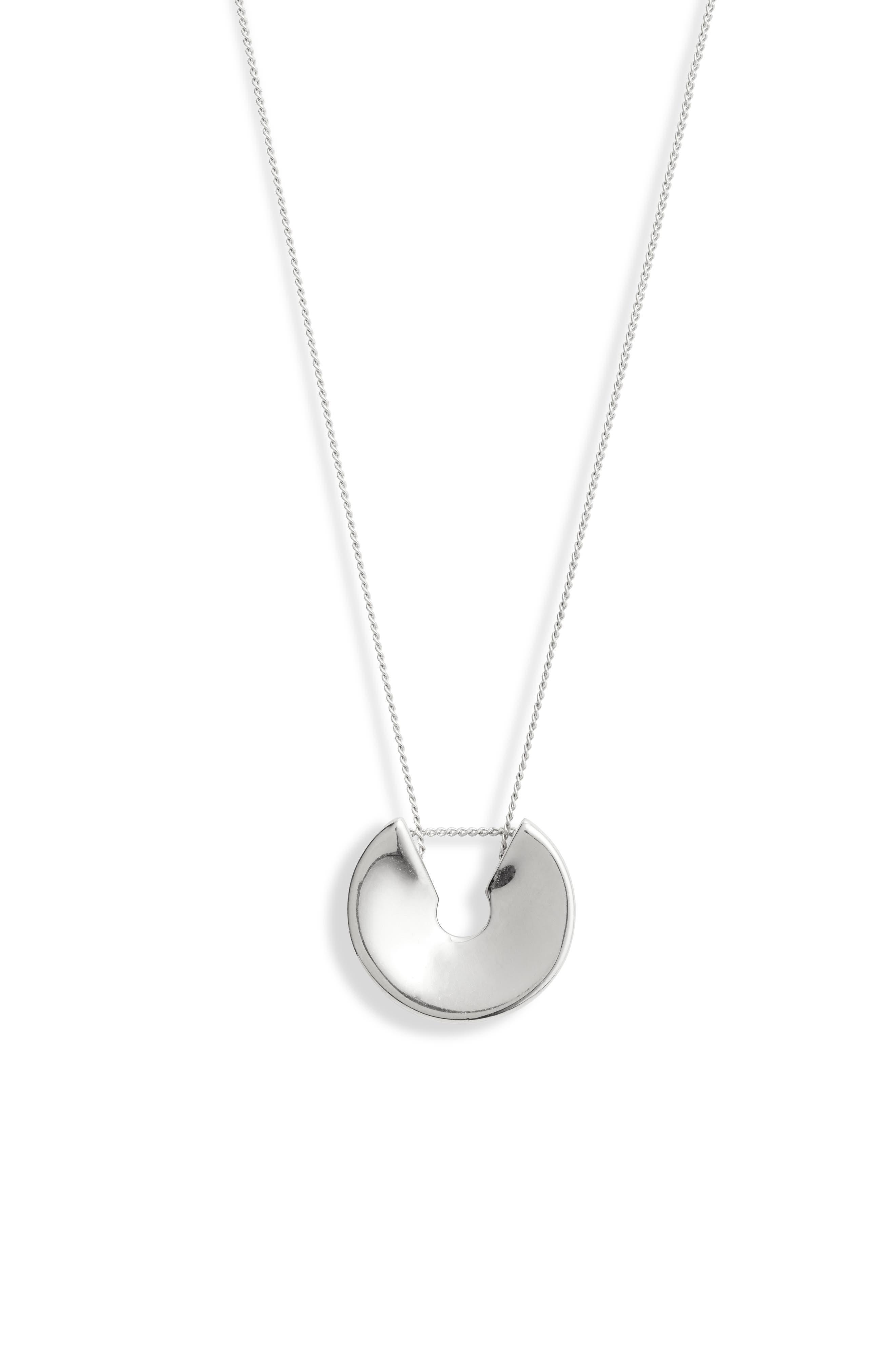 Hidden Heart Pendant Necklace