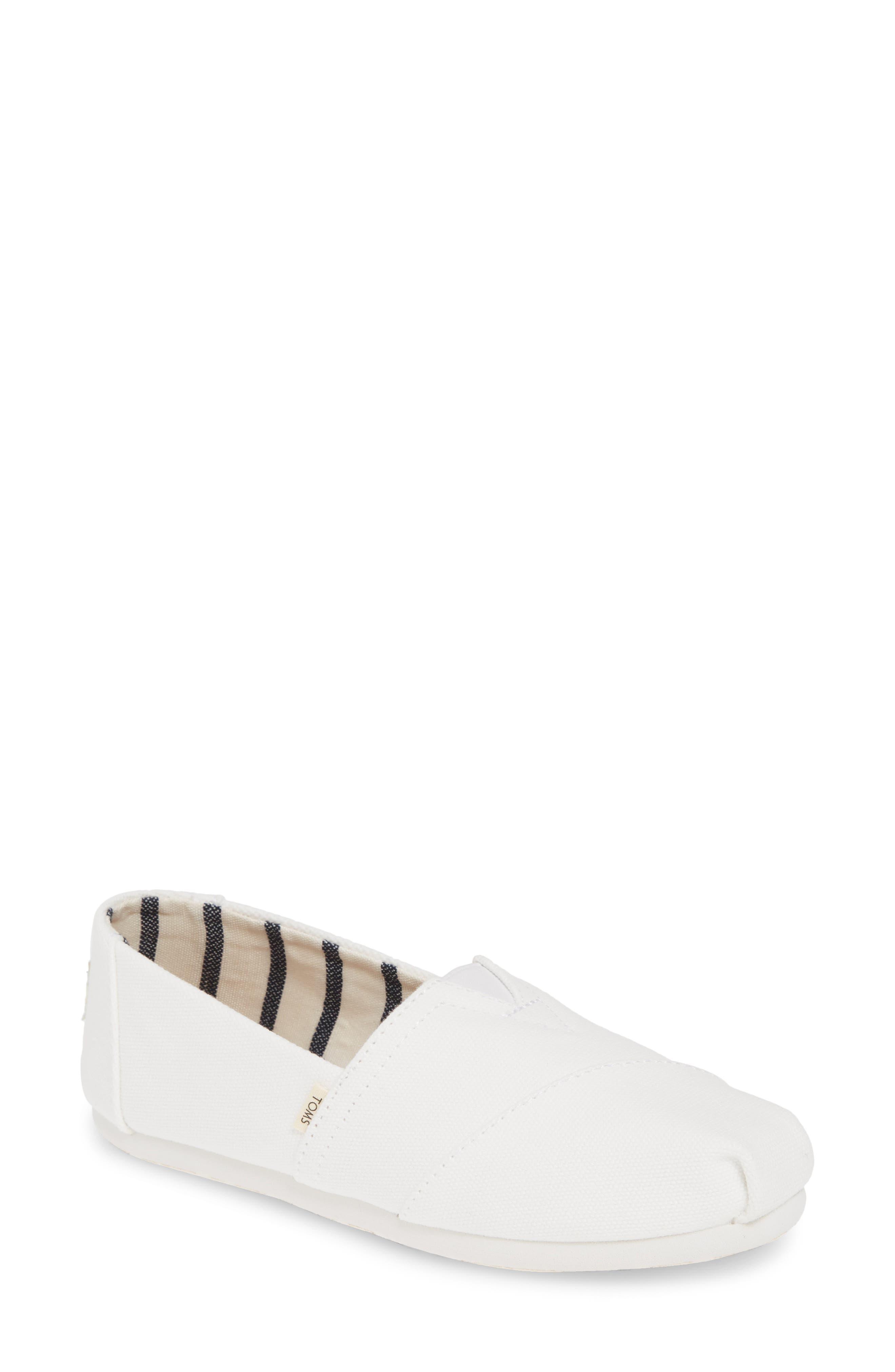 Toms Alpargata Slip-On, White