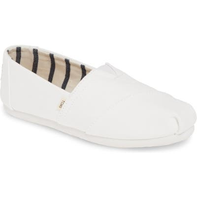 Toms Alpargata Slip-On B - White