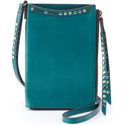 Hobo Moxie Leather Crossbody Bag - Blue/green