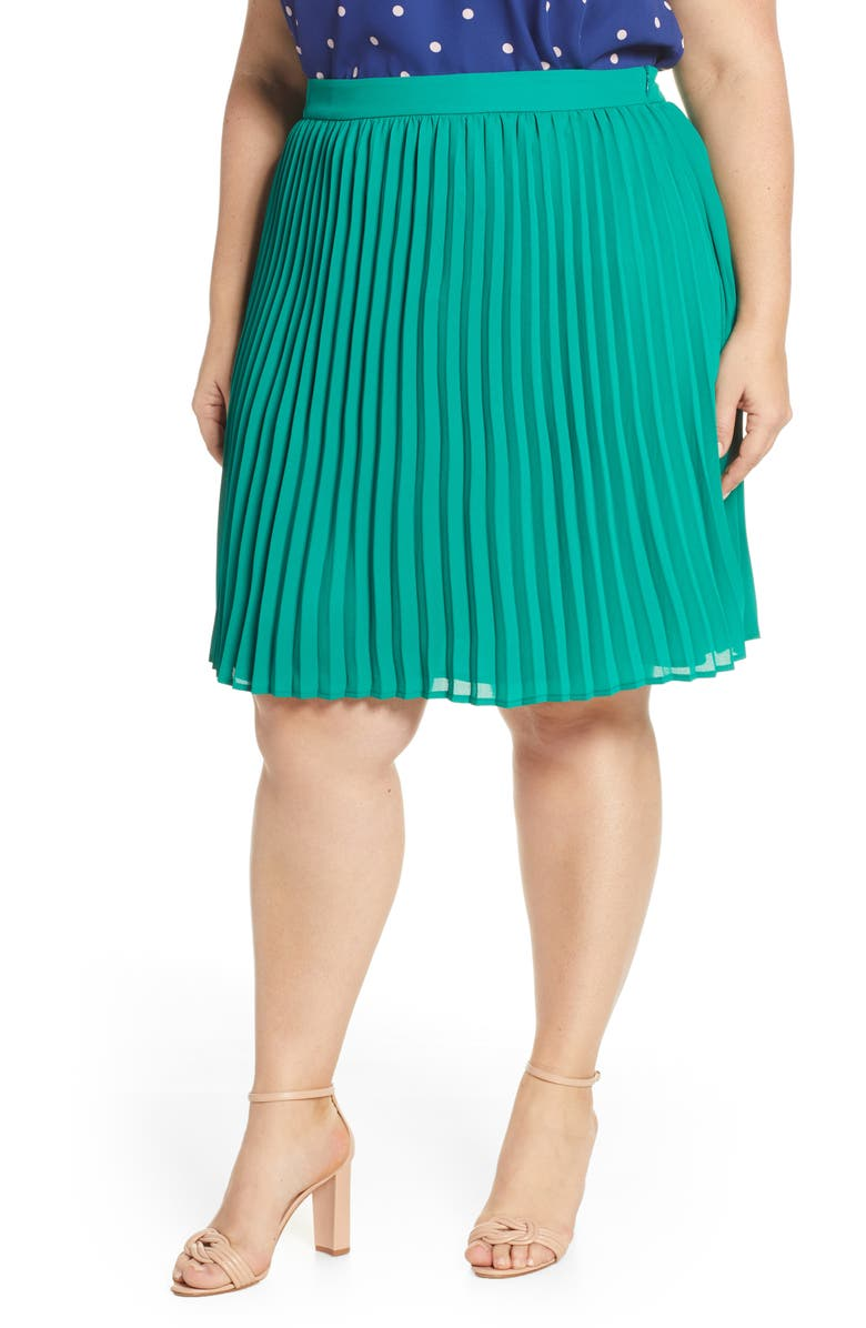 GIBSON x International Women's Day Thamarr Pleated Skirt, Main, color, 300