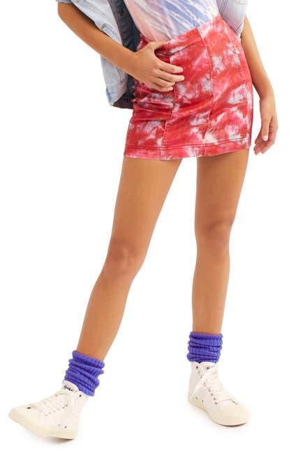 Image of Free People Modern Femme Novelty Denim Skirt