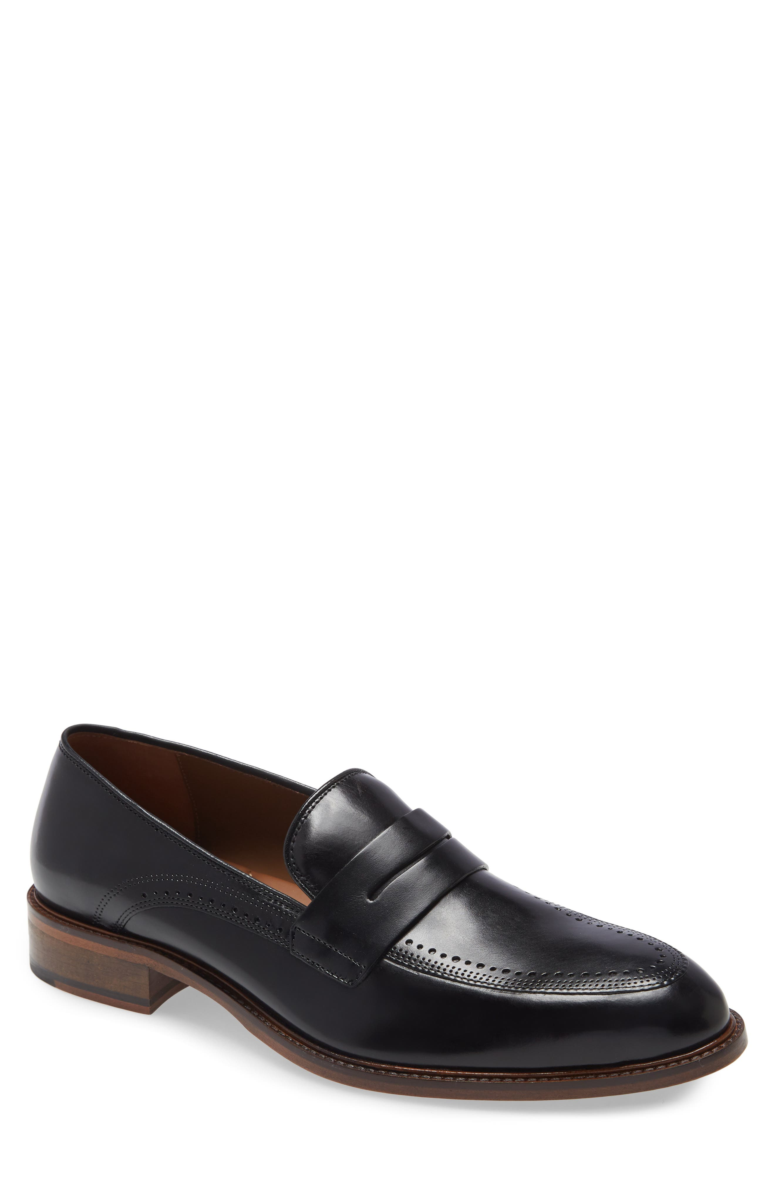 Sayer Brogued Penny Loafer