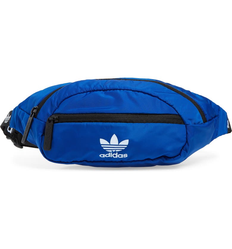 ADIDAS ORIGINALS National Belt Bag, Main, color, BRIGHT BLUE