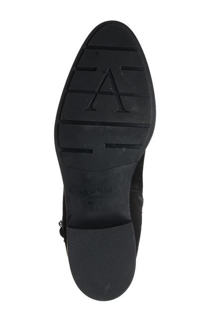 Image of Aquatalia Natalee Waterproof Suede Riding Boot