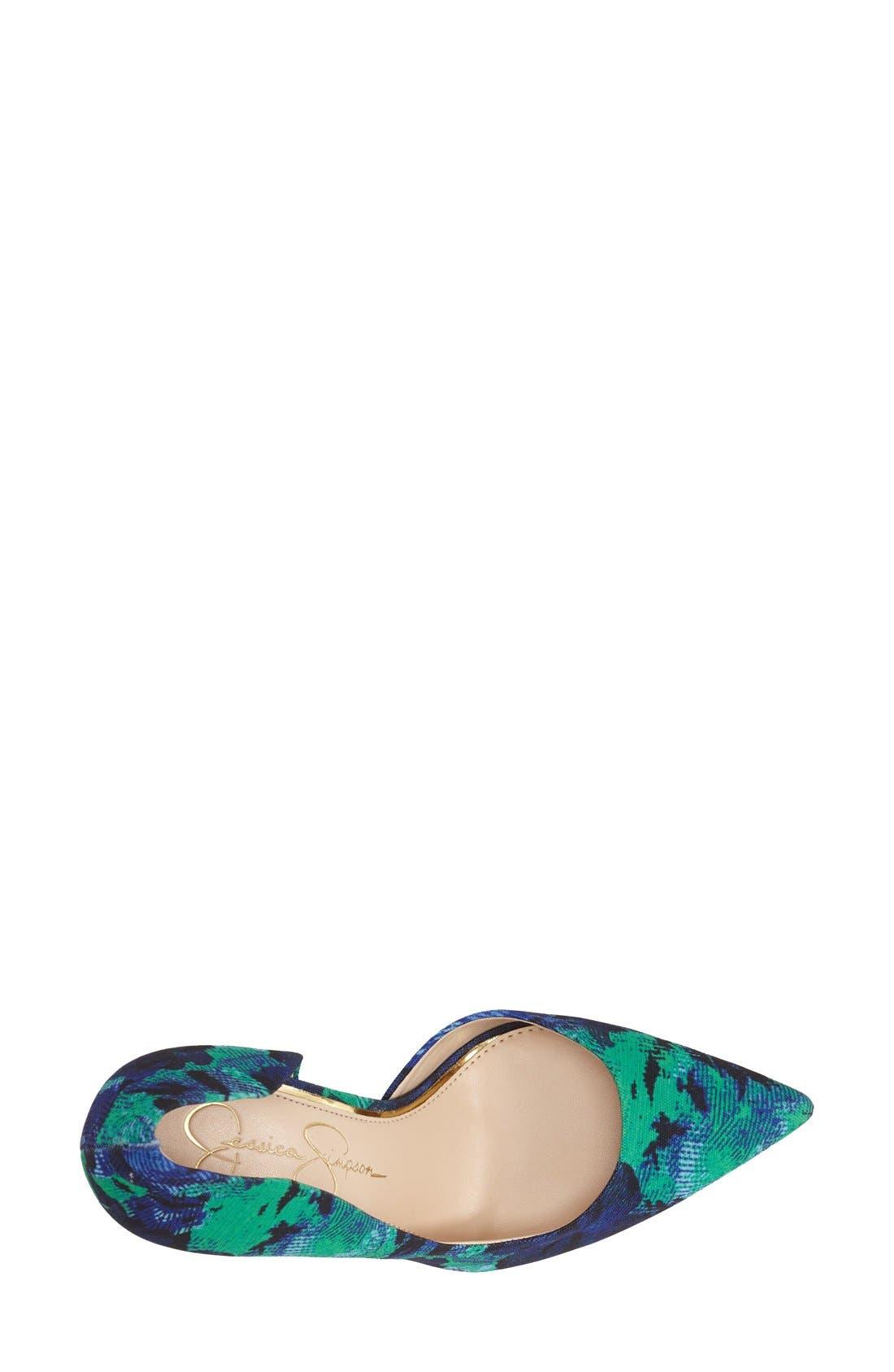 ,                             'Claudette' Half d'Orsay Pump,                             Alternate thumbnail 177, color,                             410