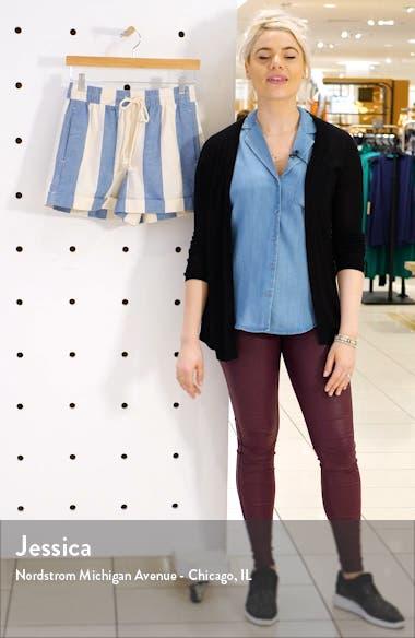 Stripe Drawstring Shorts, sales video thumbnail