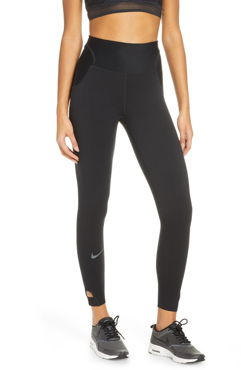 NIKE City Ready 7/8 Performance Running Tights, Main, color, 010