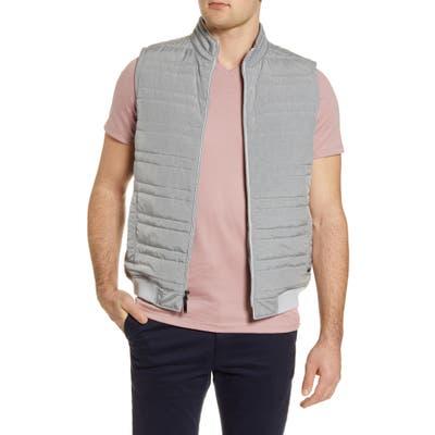 Robert Barakett Ericson Quilted Vest, Grey