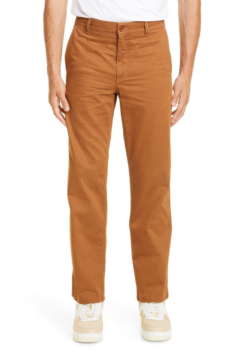 NORSE PROJECTS Josef Fatigue Stripe Pants, Main, color, RUSSET