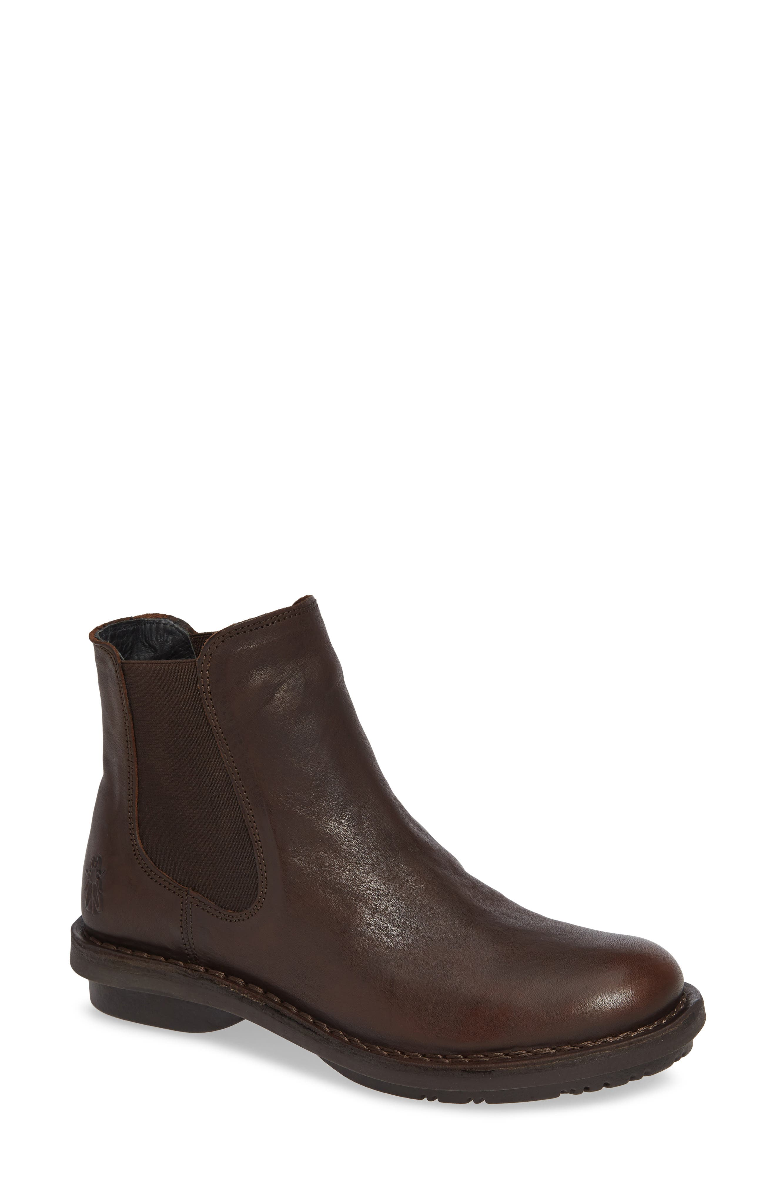Fly London Feed Chelsea Bootie - Brown