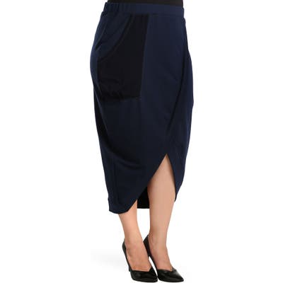 Plus Size Standards & Practices Phoebe Skirt, Blue