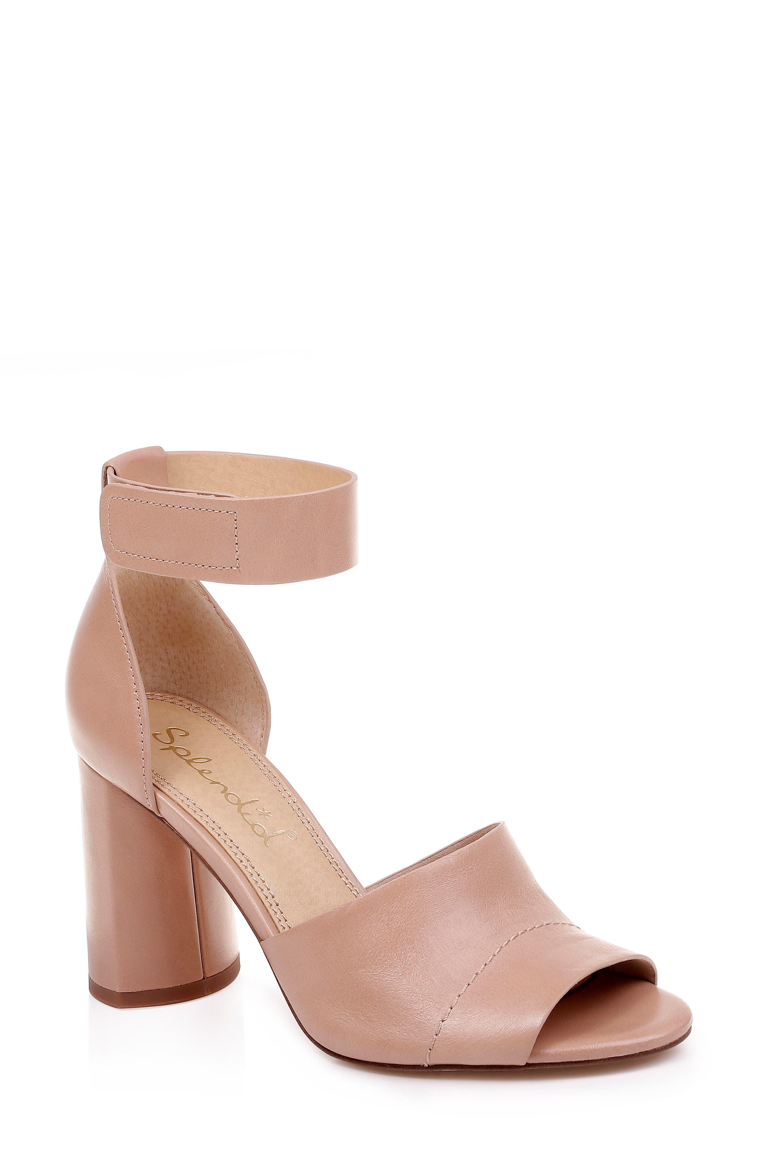 Splendid Thandie Ankle Strap Sandal- Beige