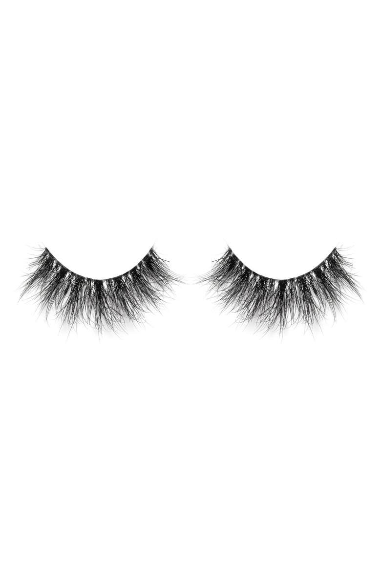 LILLY LASHES Lyla 3D Mink False Lashes, Main, color, NO COLOR