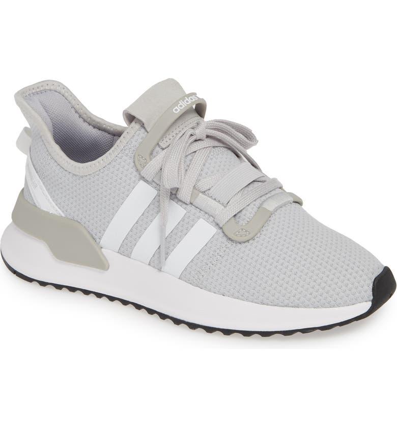 710f66e313094 U-Path Run Sneaker, Main, color, SOLID GREY/ WHITE/ CORE