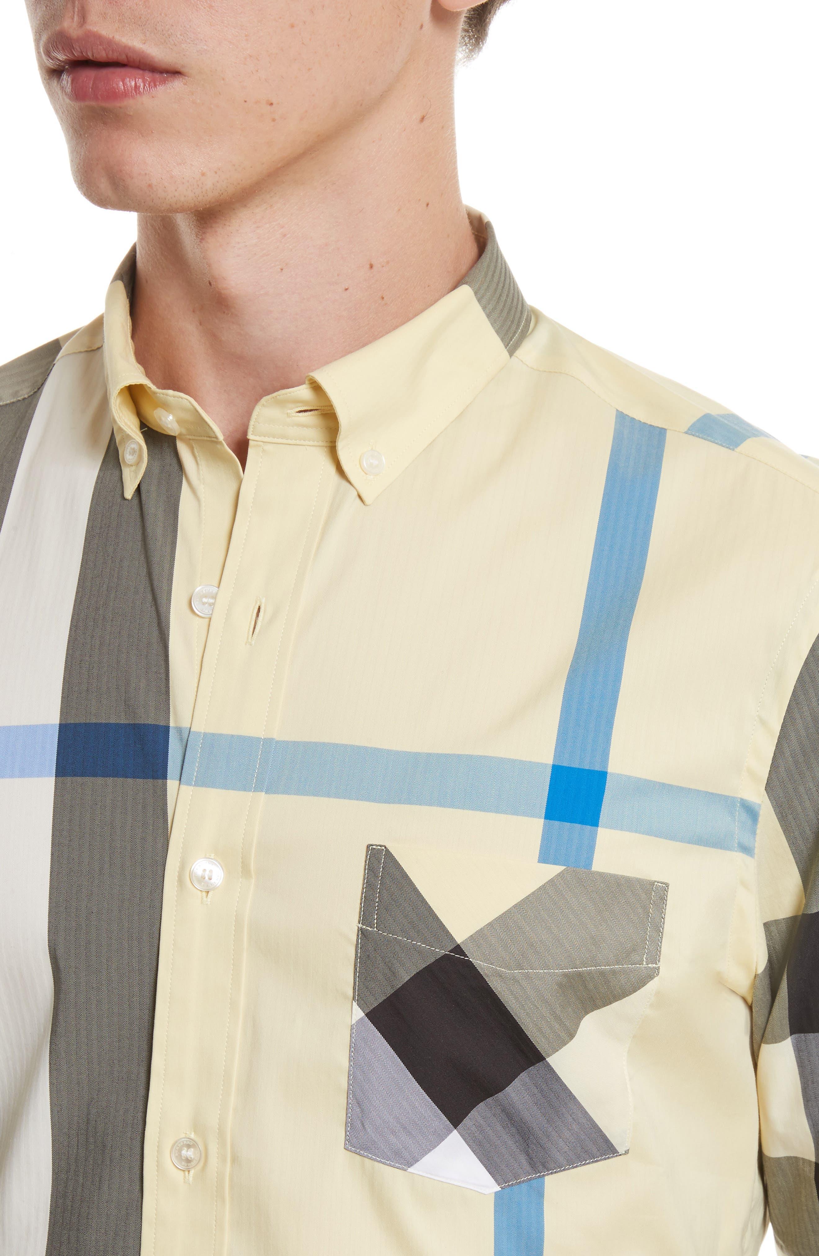 ,                             Thornaby Slim Fit Plaid Sport Shirt,                             Alternate thumbnail 51, color,                             740