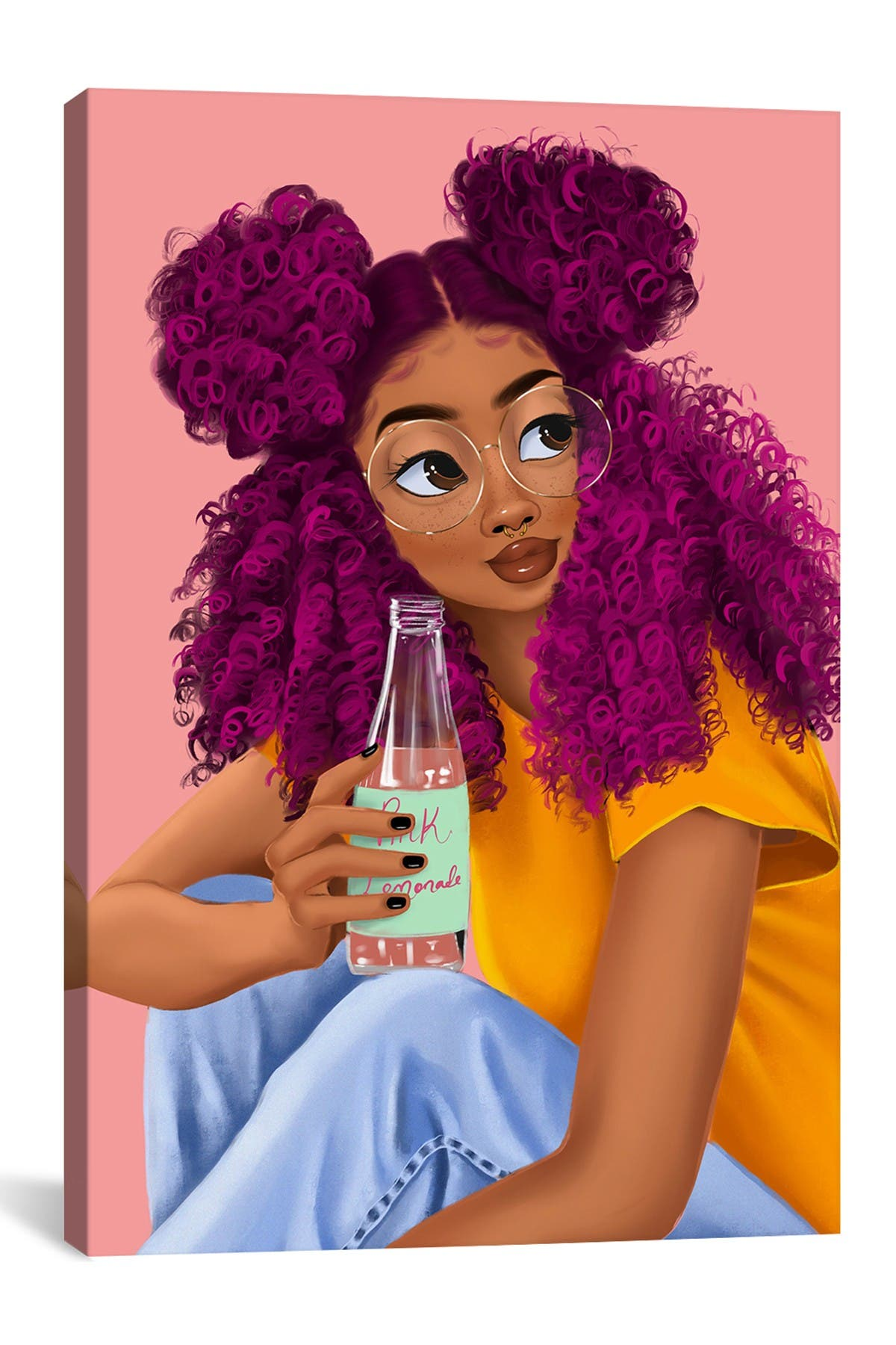 Image of iCanvas Drink by Princess Karibo