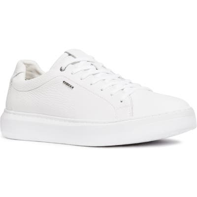 Geox Deiven 6 Low Top Sneaker, White