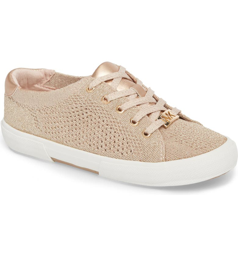 MICHAEL MICHAEL KORS Ima Metallic Knit Sneaker, Main, color, 654