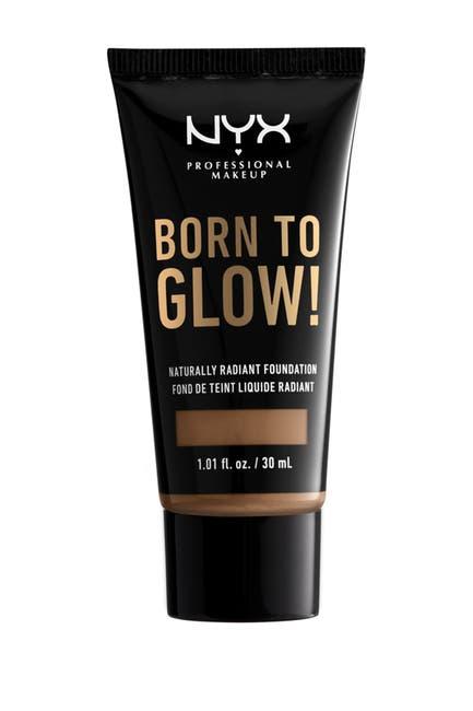 Image of NYX COSMETICS Born To Glow Medium Coverage Naturally Radiant Foundation - Mahogny