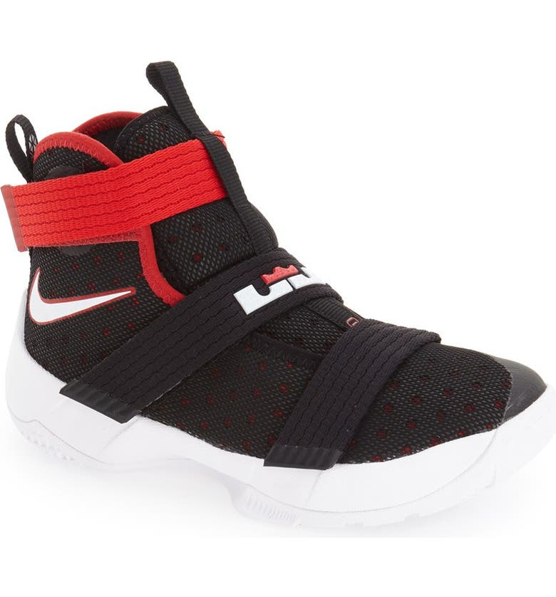 official photos 32241 37355 'LeBron Soldier 10' Basketball Shoe