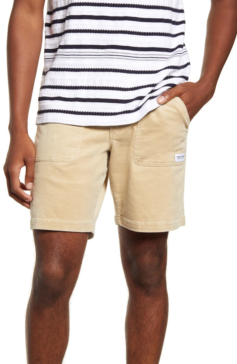BANKS JOURNAL Big Bear Walking Shorts, Main, color, DESERT