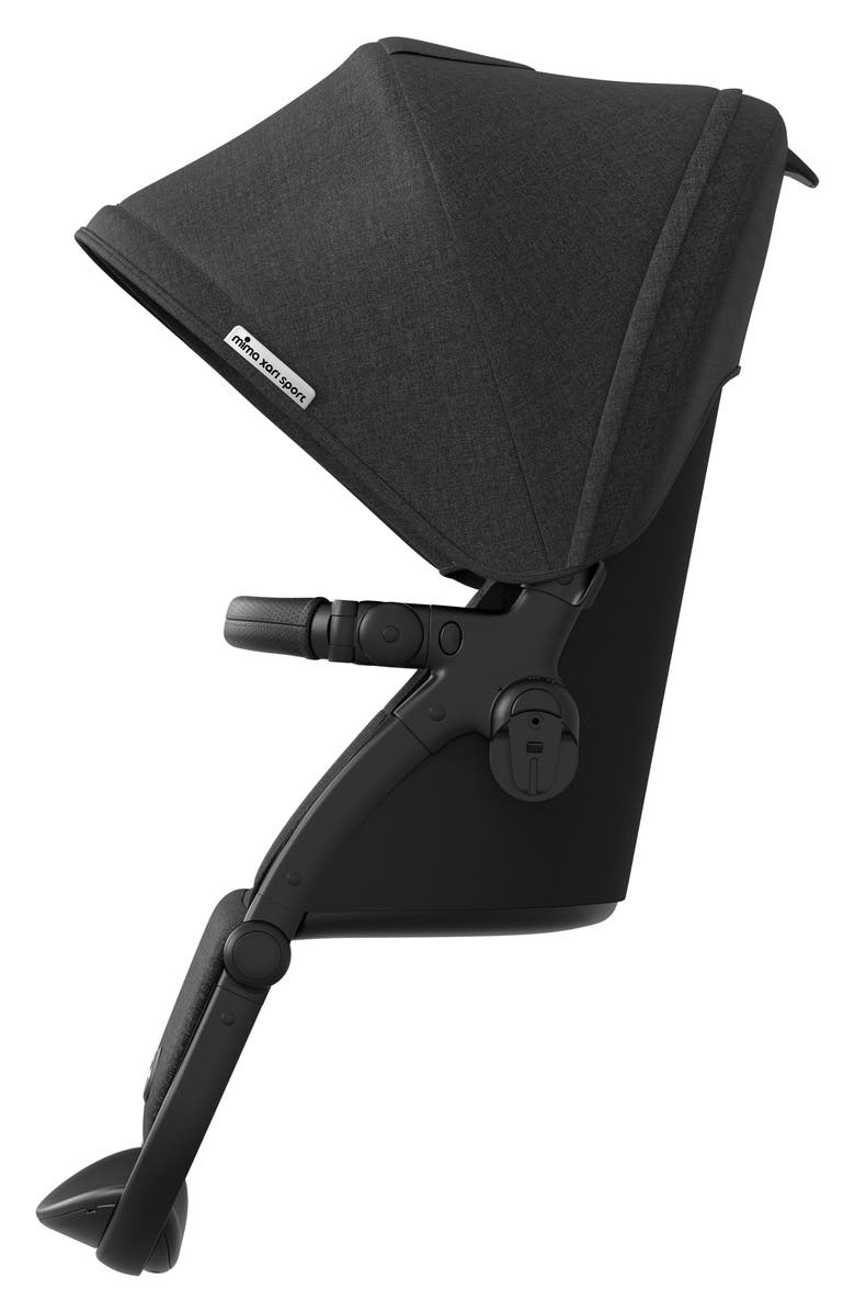 MIMA Xari Sport Seat Attachment with Canopy for mima Xari Strollers, Main, color, CHARCOAL