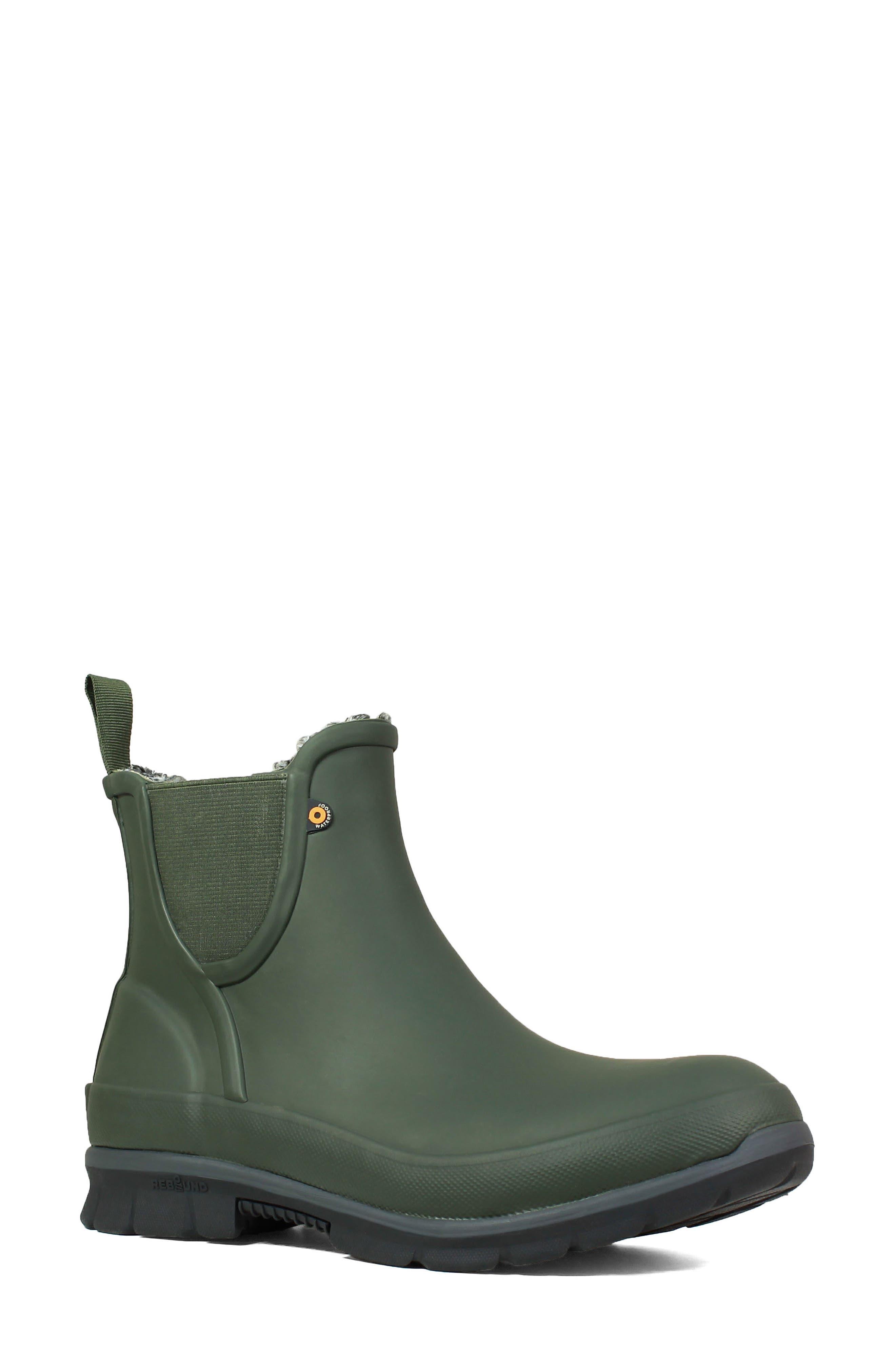 Amanda Plush Waterproof Slip-On Boot