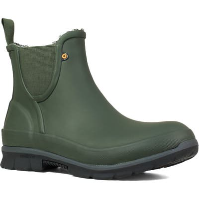 Bogs Amanda Plush Waterproof Slip-On Boot, Green