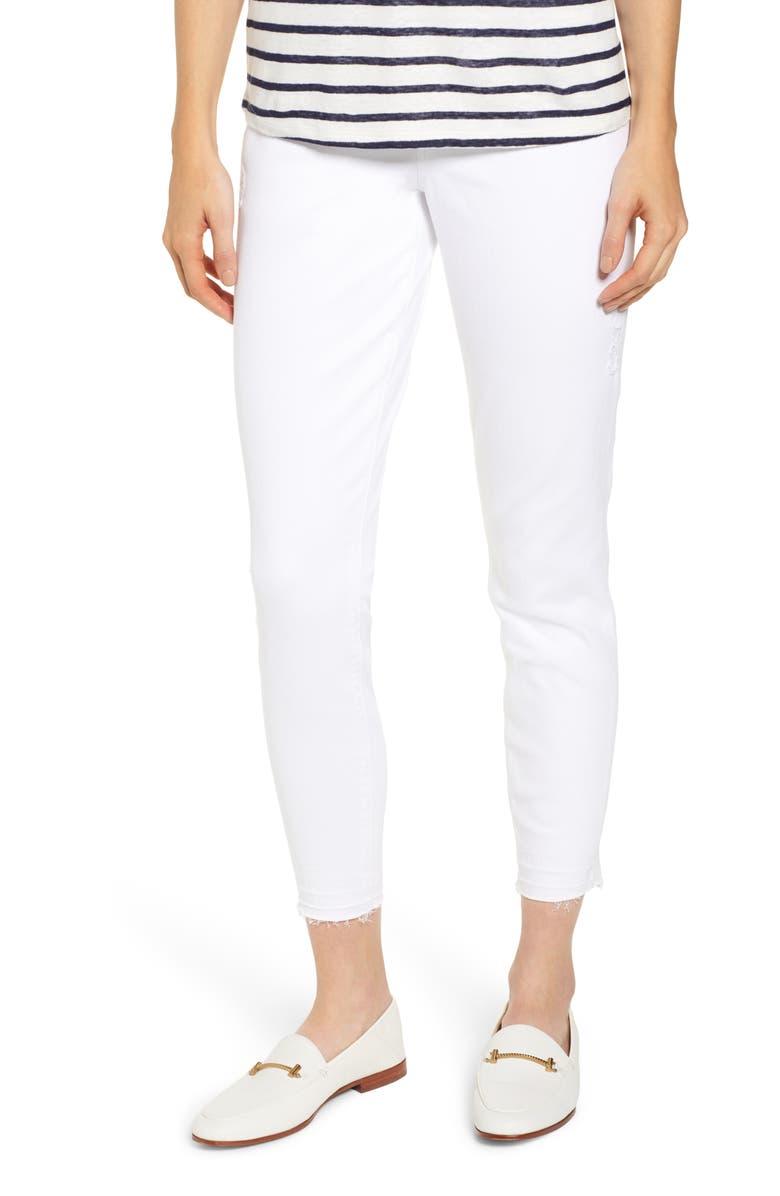 SPANX<SUP>®</SUP> Distressed Denim Leggings, Main, color, 114