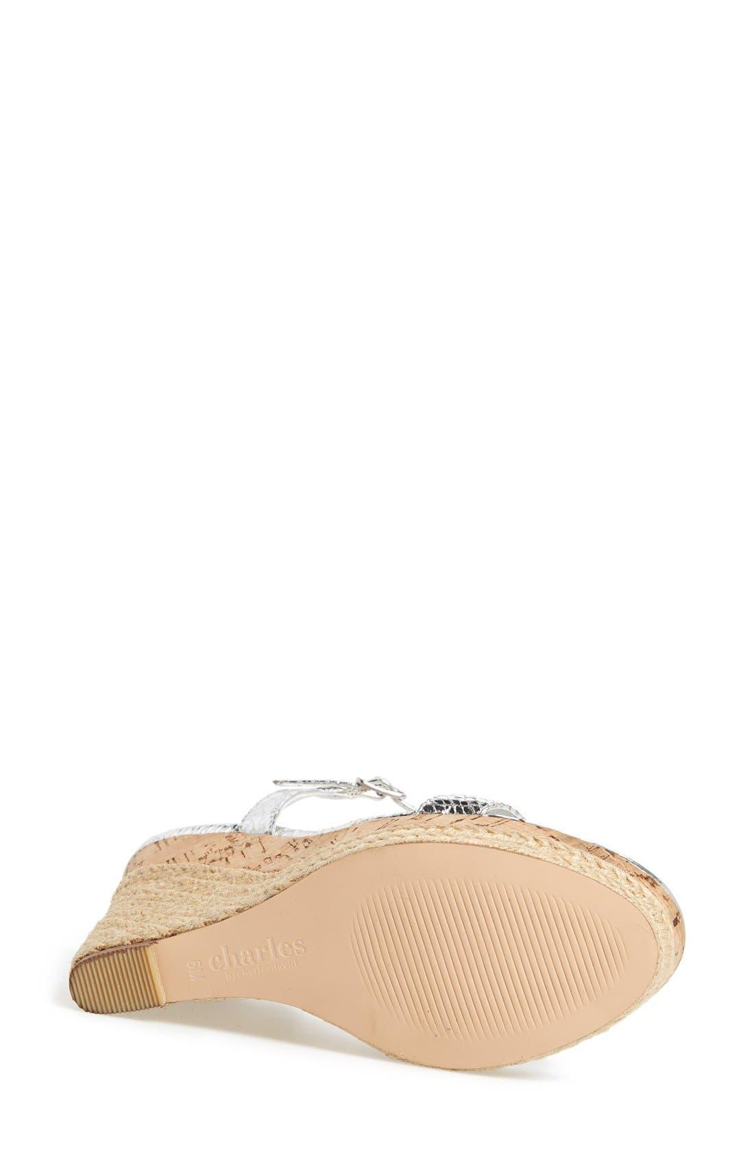 ,                             'Alabama' Espadrille Wedge Sandal,                             Alternate thumbnail 8, color,                             041
