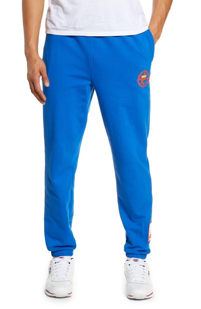 FILA Basecamp Knit Pants, Main, color, PRINCE BLUE