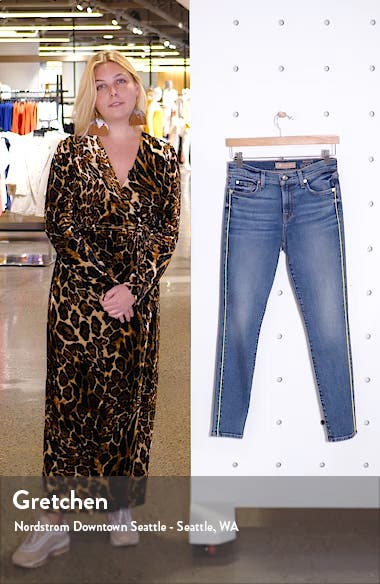 Piped Ankle Skinny Jeans, sales video thumbnail