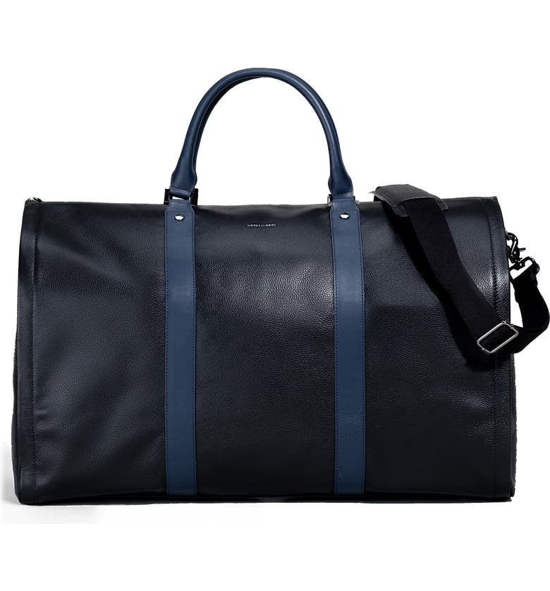 HOOK + ALBERT Garment Duffle Bag, Main, color, BLACK